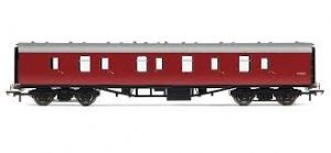 Hornby R4625 [RAILROAD] BR Mark 1 Parcels Brake Coach, Maroon Livery